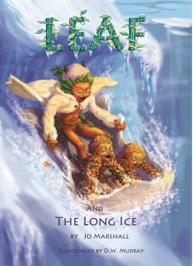 Twig Stories ~ Leaf & the Long Ice ~ front cover