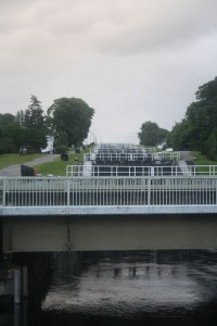 Caledonian Canal - Neptune's Staircase - at Fort William