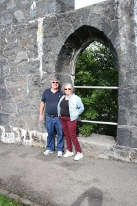 Don and Mel at McCaig's Tower