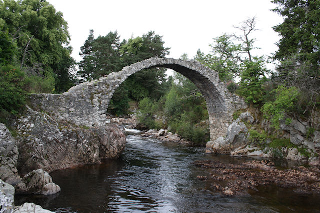 travel - Old bridge at Carrbridge