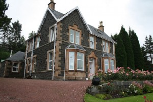 Our B&B in Fort William
