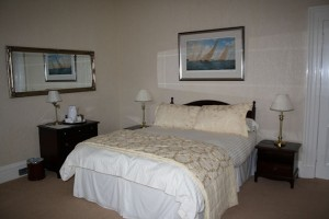 Our room at Myrtle Bank