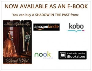 a shadow in the past ebook postcard front