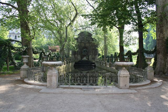 Fontaine Medecis in the Jardin du Luxembourg