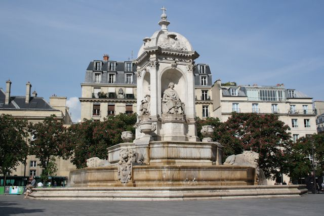 fountain in place sulpice