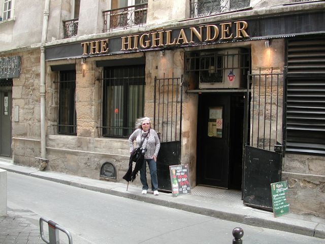outside the highlander