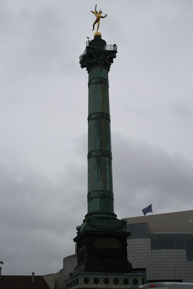 The July Column in Place de la Bastille