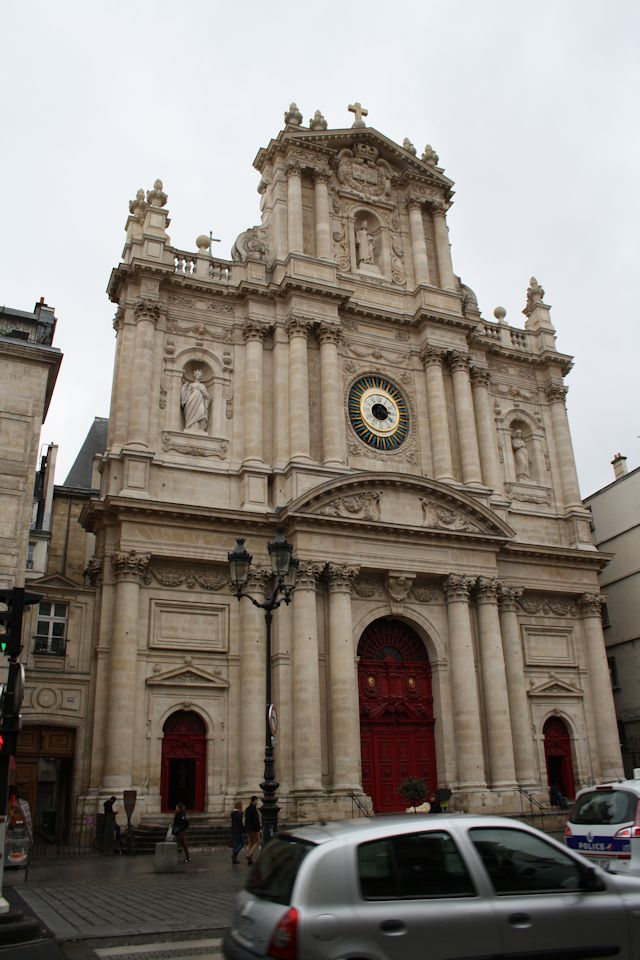 L'Eglise Saint Paul-Saint Louis on Rue Saint Antoine near the Auld Alliance