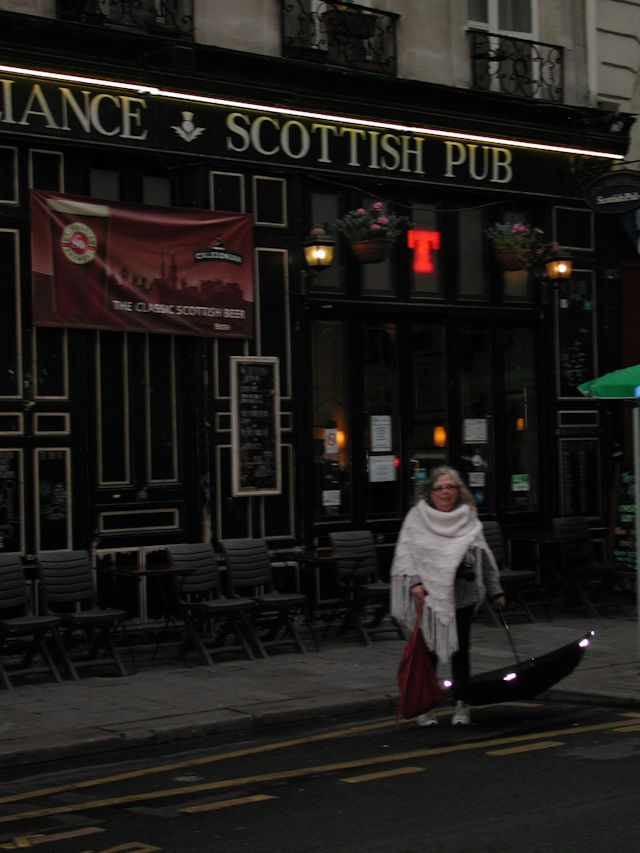 Outside the Auld Alliance