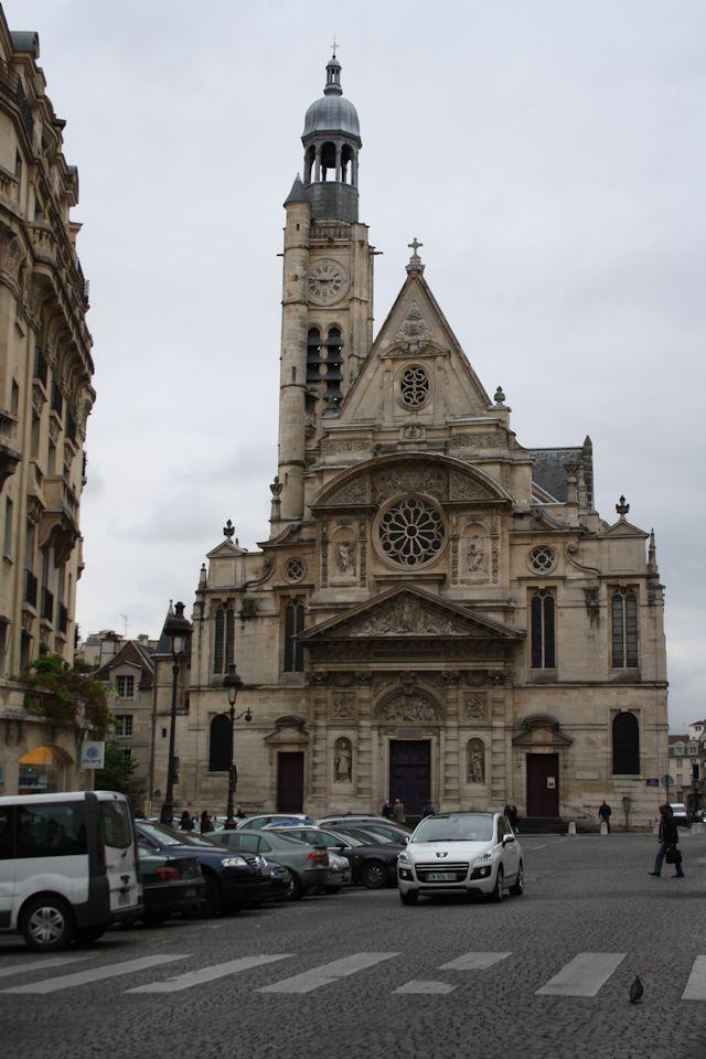 Saint-Etienne-du-Mont near the Pantheon