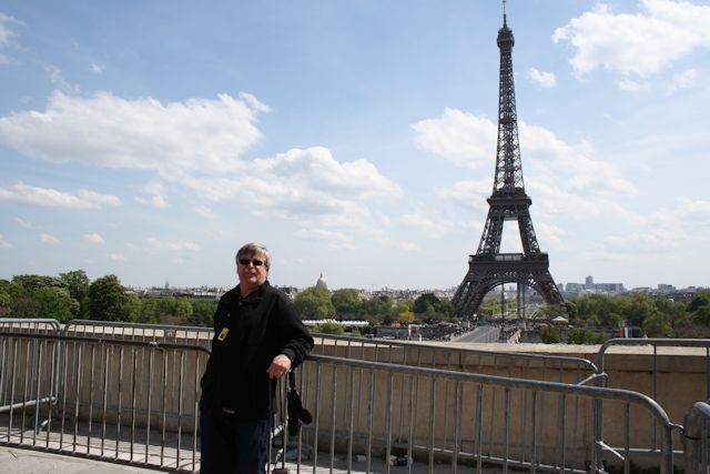 Don at the Trocadéro