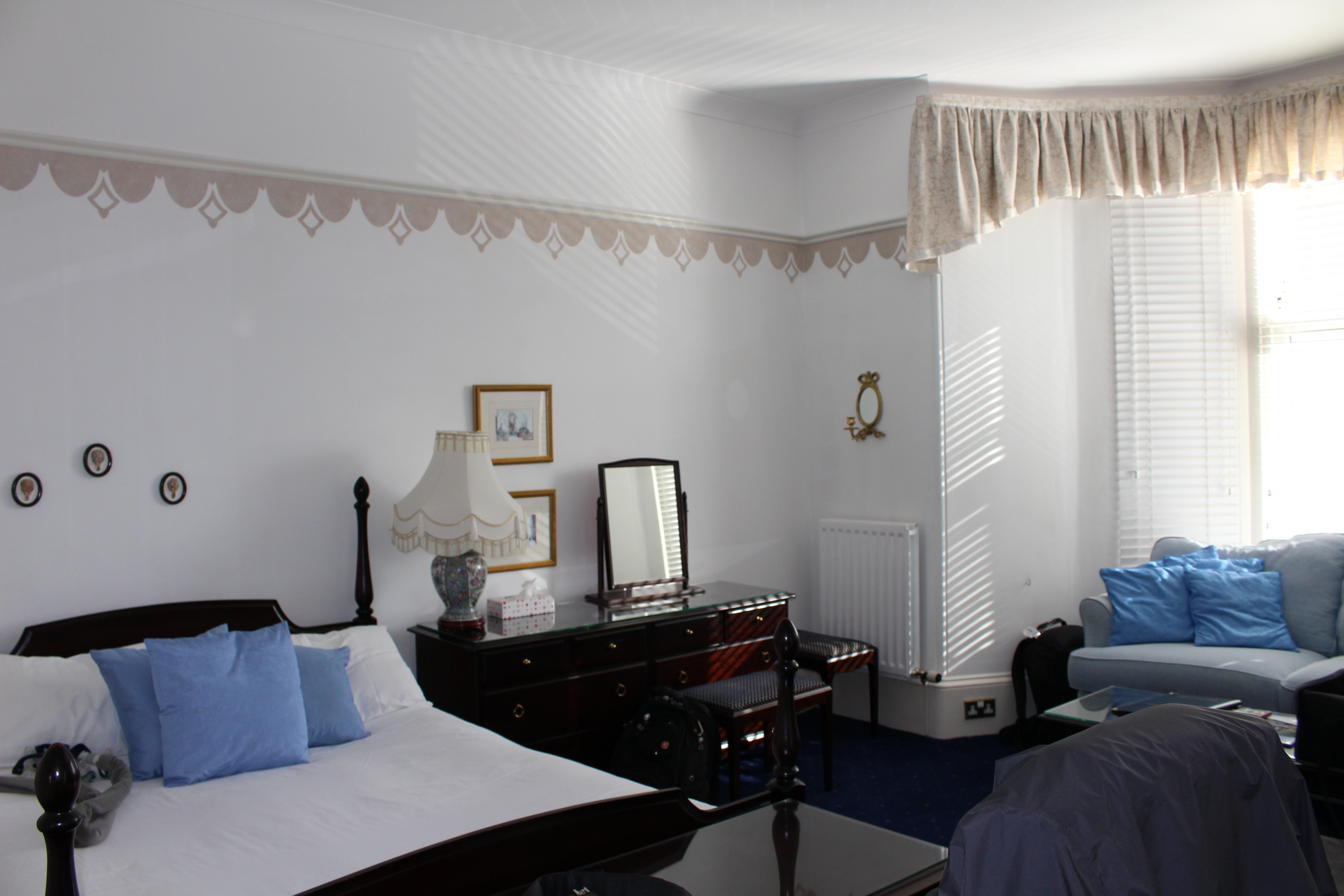 Our room at Hotel Broughty Ferry