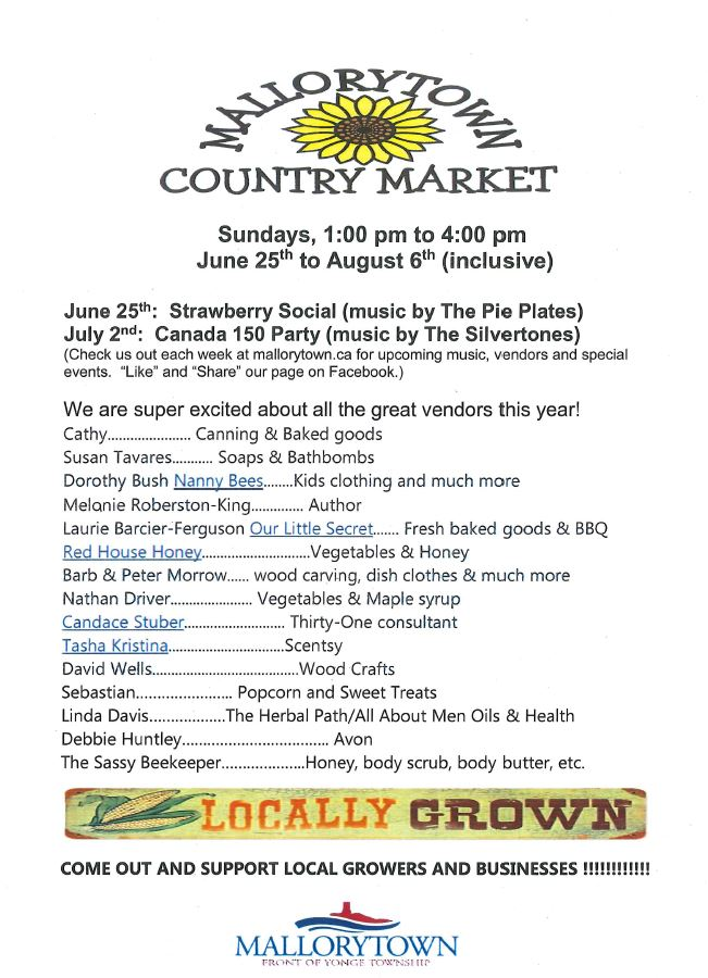 Mallorytown Country Market